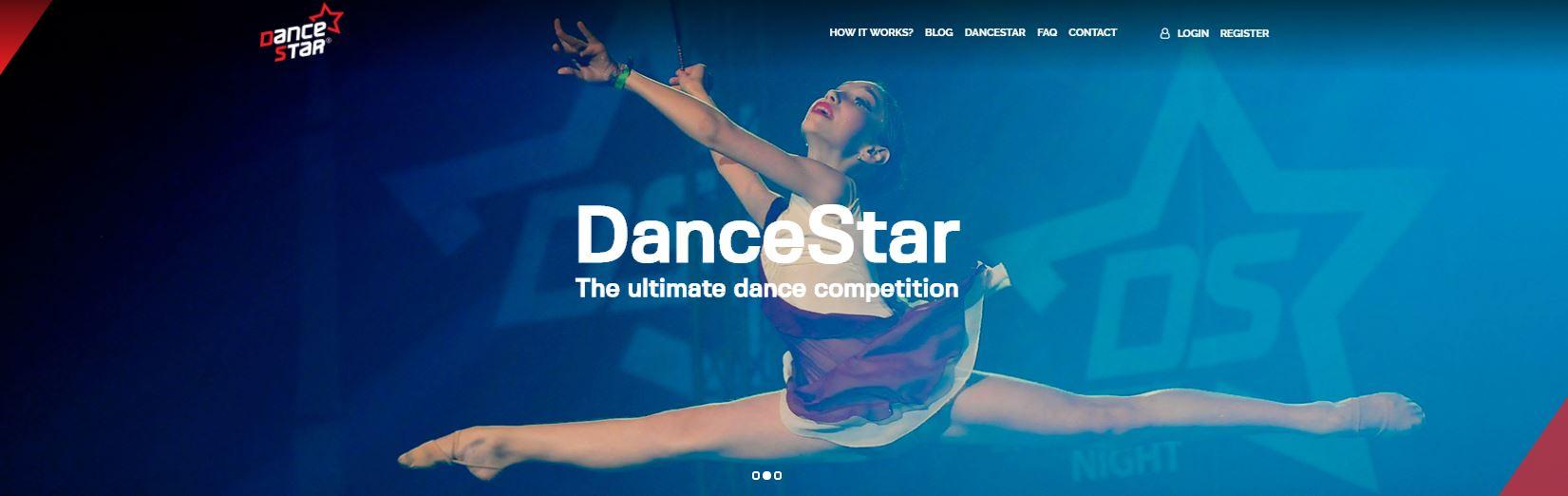 DanceStar new website is launched!